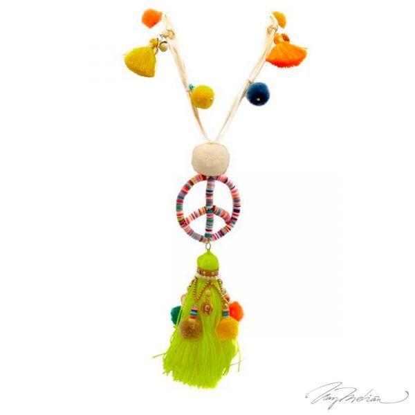Collar de la Paz en Colores Colección Cervantes