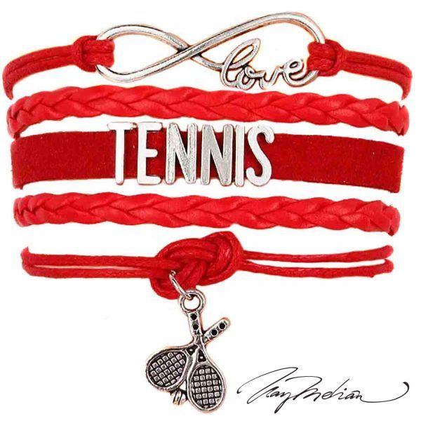 Pulseras Trenzadas Tenis y Raqueta