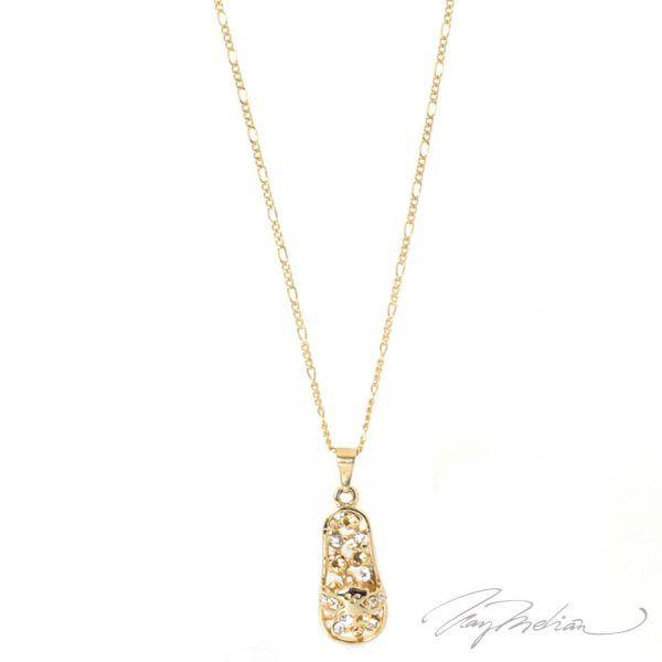 Collar SANDTOU Oro Laminado de 18K de la colección Alcalá de Henares