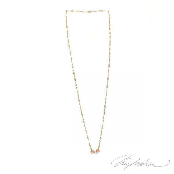 Collar CADTORCHCART Oro Laminado de 18K de la colección Alcalá de Henares