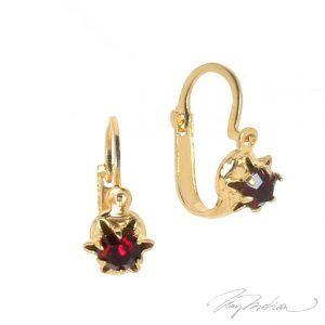 Pendientes Antiq de Oro Laminado de 18K de la colección Alcalá de Henares