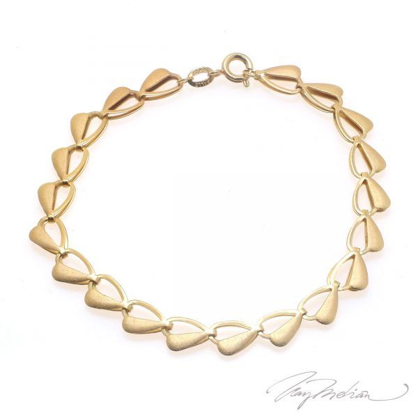 Pulsera TRIANGLE Oro Laminado de 18K de la colección Alcalá de Henares